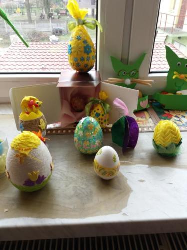 Dekoracje Wielkanocne Uczniów klas I – III