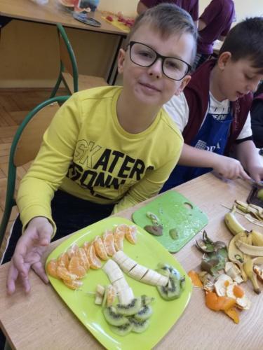 """Zdrowe odżywianie – ,,Ekipa Chrumasa Gotuje"""" – 15.11.2018"""
