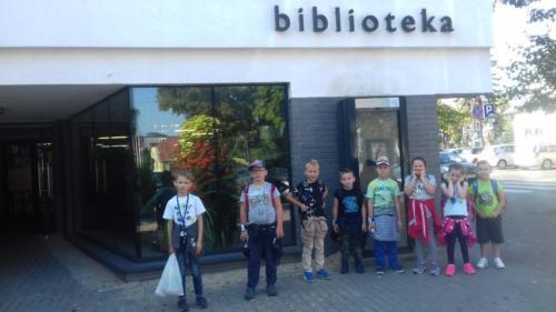 Wycieczka I klasy do Biblioteki – 19.09.2018r.