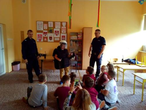 Spotkanie z Policjantami – 05.10.2018