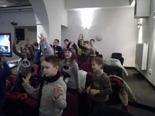 Zajęcia w kinie 14.01.2019